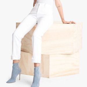MOTHER Scrapper Cuff Ankle Frey Jeans👖